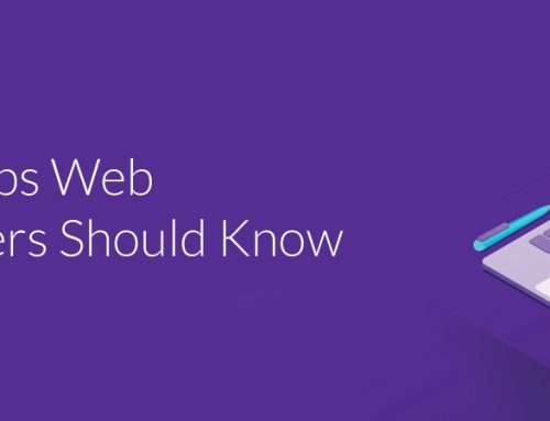 5 Easy Tips Web Developers Should Know