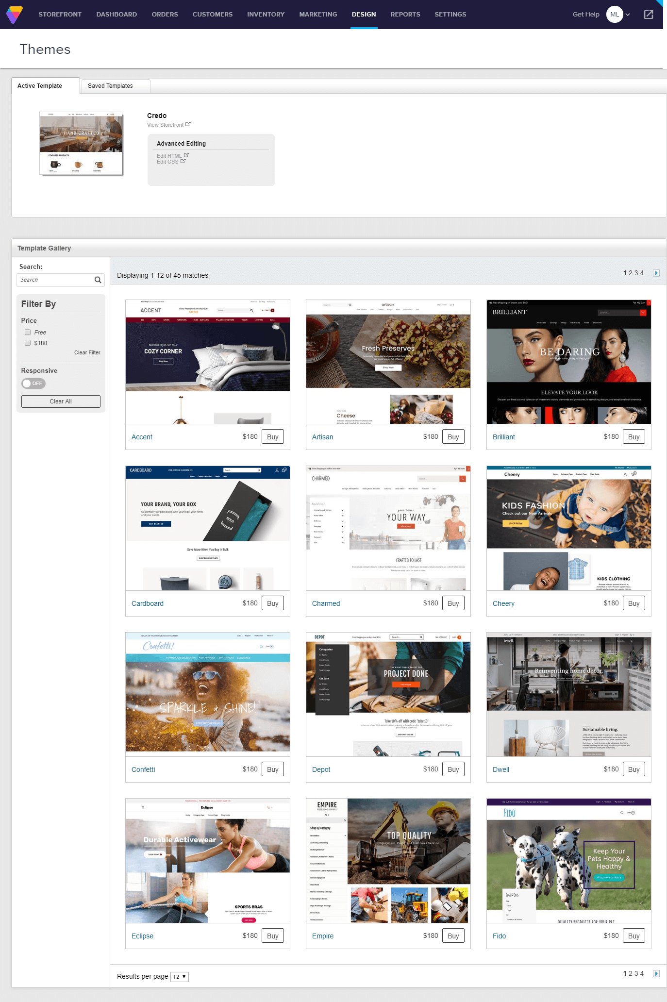How to create ecommerce website on Volusion?