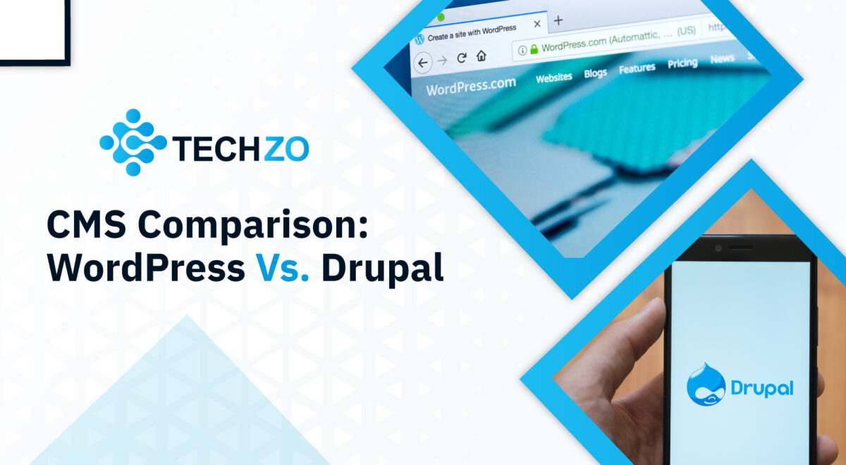 CMS Comparison WordPress Vs. Drupal