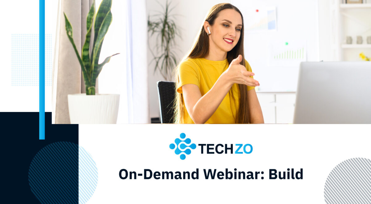 On Demand Webinar Build