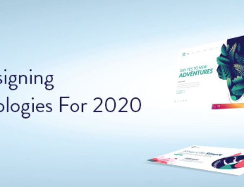Top 10 Web Designing Trends & Technologies For 2020