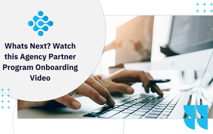 Whats Next Watch this Agency Partner Program Onboarding Video