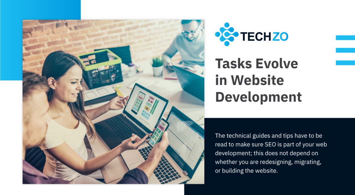 Tasks Evolve in Website Development