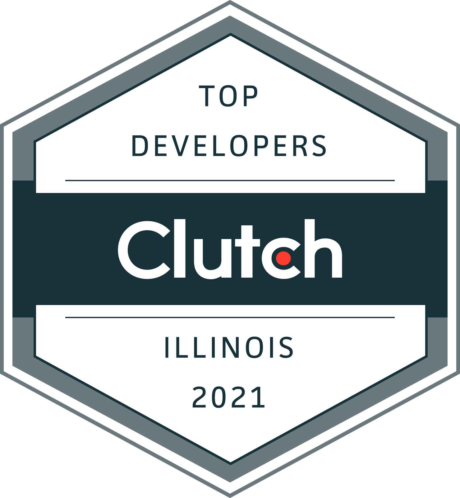 """We are a team of professional web designers, focused to deliver innovative, creative and scalable websites with outstanding user experience. We serve different industries including real estate, IT, healthcare, financial services, education and more. This year, we have been recognized by Clutch as one of the top performing agencies in Illinois. Clutch is a B2B ratings and reviews platform based in Washington, DC. They evaluate technology service and solutions companies based on the quality of work, thought leadership, and client reviews. Our team works six days a week, just one of the many reasons why we believe we deserve recognition like this. Our CEO quoted: """"It is a pleasure to receive such an award from Clutch.co as it's a valuable platform to get verified testimonials."""""""
